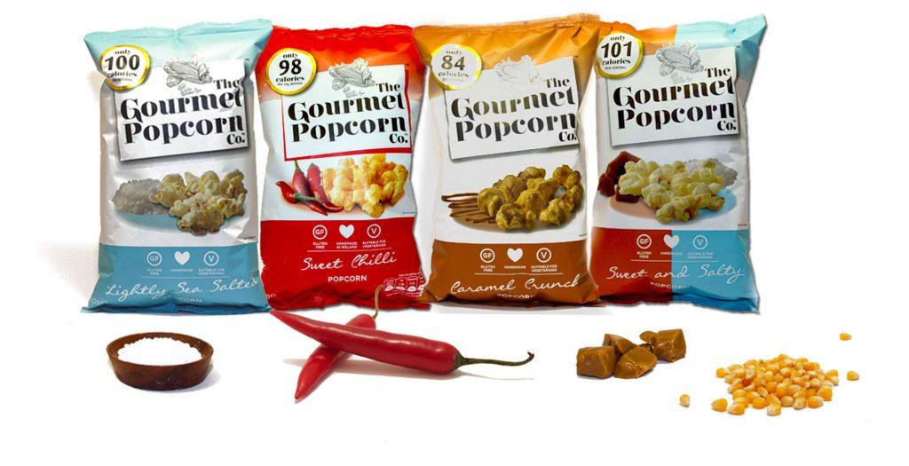 Flow wrap group - popcorn (confectionary)