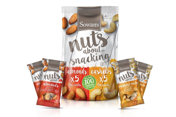 nuts about snacking