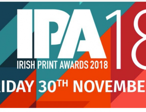 We are Finalists in The Irish Print Awards 2018